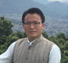 Mahakulung Rural Municipality chairperson Mr.Sagar Kirati